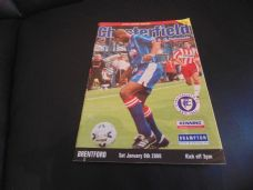 Chesterfield v Brentford, 1999/2000